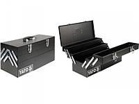 YATO Ящик для інструменту металевий 460х200х225мм