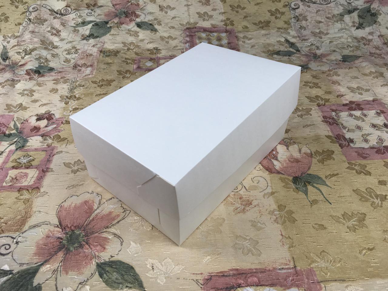 Коробка для 6-ти кексов / 250х170х90 мм / Молочн / б.о.