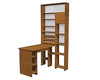 Маникюрный стол шкаф Лафайетт Вишня Оксфорд