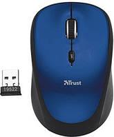 Мышь компьютерная Trust Yvi Wireless Mini Mouse Blue