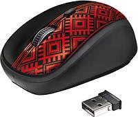 Мышь компьютерная Trust Yvi Wireless Mouse Ukrainian style - block