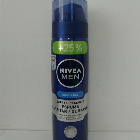 Пена для бритья мужская Nivea 200+50 мл. бесплатно (Нивея Увлажняющая)