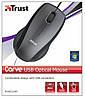 Мышь компьютерная Trust Carve USB optical 15862, фото 3