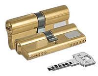 Цилиндр замочный Kale 164 BN 68мм (31x37) Ключ - ключ латунь