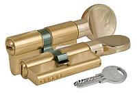 Цилиндр замочный Kale 164 SM 90мм (40x50) Ключ - тумблер латунь