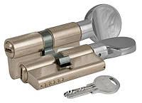 Цилиндр замочный Kale 164 SM 80мм (40x40Т) Ключ - тумблер никель