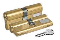 Цилиндр замочный Kale 164 SN 80мм (40x40) Ключ - ключ латунь