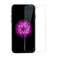 Защитное стекло на экран прозрачное для iPhone 5G/S, (в пакете без салфеток) Q50