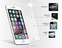 Защитное стекло на экран прозрачное для iPhone 6, (в пакете без салфеток) Q50