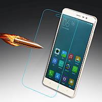 Защитное стекло на экран прозрачное для XIAOMI Mi4s, (пакет без салфеток)