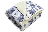 Одеяло меховое, бязь, 100% хлопок, размер 200х215 см, евро