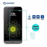 Защитное стекло на экран прозрачное для LG G3 mini (G3s), (пакет без салфеток)