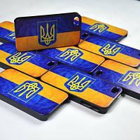 "Защитная пленка ""Патриот"" для Iphone 5G/5S с Трезубцем"