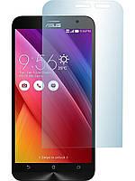 """Защитное стекло на экран прозрачное для Asus Zenfone 2 5,5"""", (в пакете без салфеток)"""