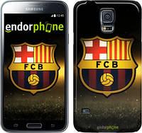 "Чехол на Samsung Galaxy S5 Duos SM G900FD ФК Барселона ""2299c-62"""