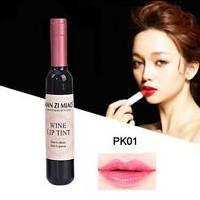 """Блеск-тинт для губ """"Бутылочка Вина"""" PK01 Blush Pink"""