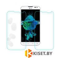 Защитное стекло на экран прозрачное для LG L90, вл./сух.салф., (уп.книжка)
