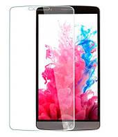 Защитное стекло на экран прозрачное для LG G3 Stilus, вл./сух.салф., (уп.книжка)