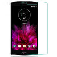 Защитное стекло на экран прозрачное для LG Flex 2, вл./сух.салф., (уп.книжка)