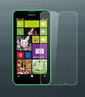 Защитное стекло на экран прозрачное для Nokia 520 влажная/сухая салфетки, BOX