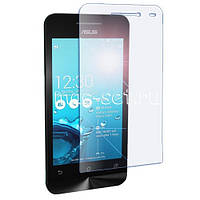 Защитное стекло на экран прозрачное для Asus Zenfone 4, вл./сух.салф., (уп.книжка)