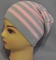 """Демисезонная шапочка для девочки """"Венеция"""""""