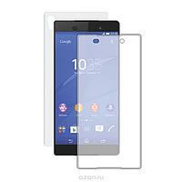 Защитное стекло на экран прозрачное для Sony Z4, вл./сух.салф., (уп.книжка)