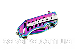 Нож карманный складной с клипсой 6675 CPT2, фото 3