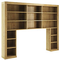 Книжный шкаф к камину / бару Paged Teo