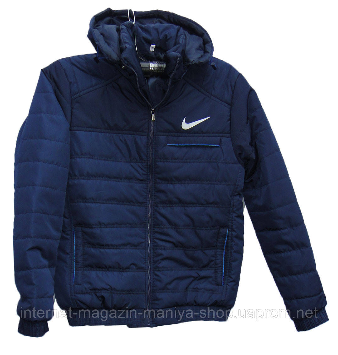 7bc4a677 Куртка мужская 2 с капюшоном Nike батал (деми) - купить по лучшей ...
