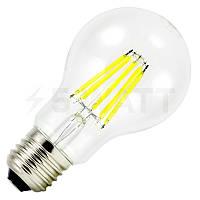 Світлодіодна лампа Filament 8W A60 E27 3000K, 4500K BIOM, фото 1