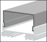 LED-профиль ЛСС (анодированный) 2м.
