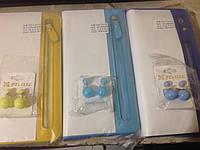 Желтый кошелек для девушки Baellerry и серьги-шарики в подарок