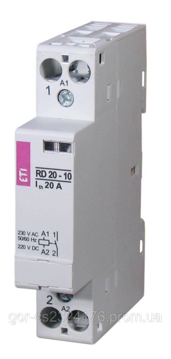 Контактор модульный RD 20-11 (катушка АС/DS; исполнение: 1-модуль)