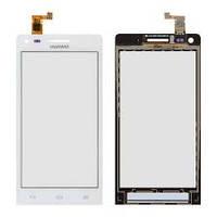 Тачскрин (сенсорный экран) для телефона Huawei G6-U10 Ascend, цвет белый