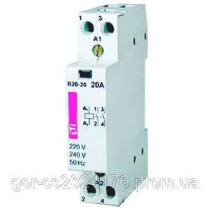Контактор модульный R-R 20-11-R ( с ручным управлением)