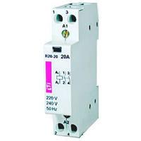 Контактор модульный R-R 25-22-R ( с ручным управлением)
