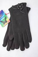 """Зимние трикотажные перчатки """"Карина"""""""