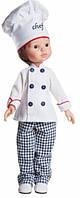 Кукла Paola Reina Карлос шеф-повар 32 см (04612)
