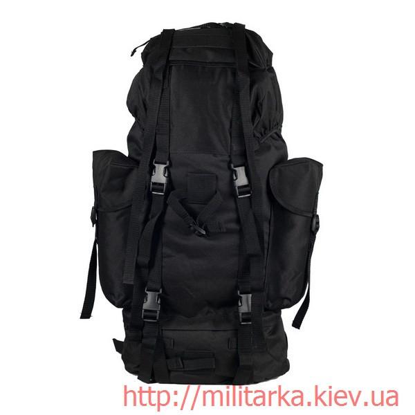 Рюкзак польовий бундесверу покращений чорний Милтек