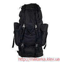 Рюкзак польовий бундесверу покращений чорний Милтек, фото 1