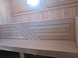Полок липа, лежаки для бани и сауны, фото 2