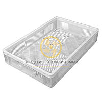 Ящики пластиковые для хлеба и кондитерских изделий 600x400x110