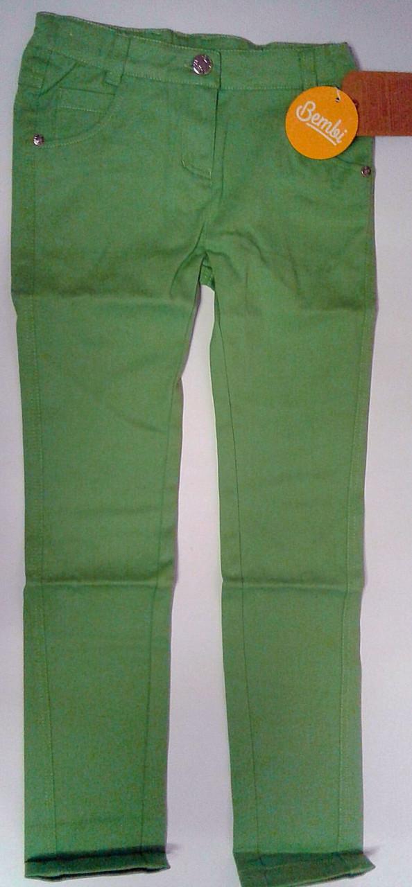 Штаны для девочек Коттон 122 см 6 лет Зелен. 26309023442 ШР309п Бэмби Украина