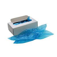 Бахилы полиэтиленовые в картонной коробке