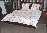 Семейный комплект постельного белья Нежная Сакура