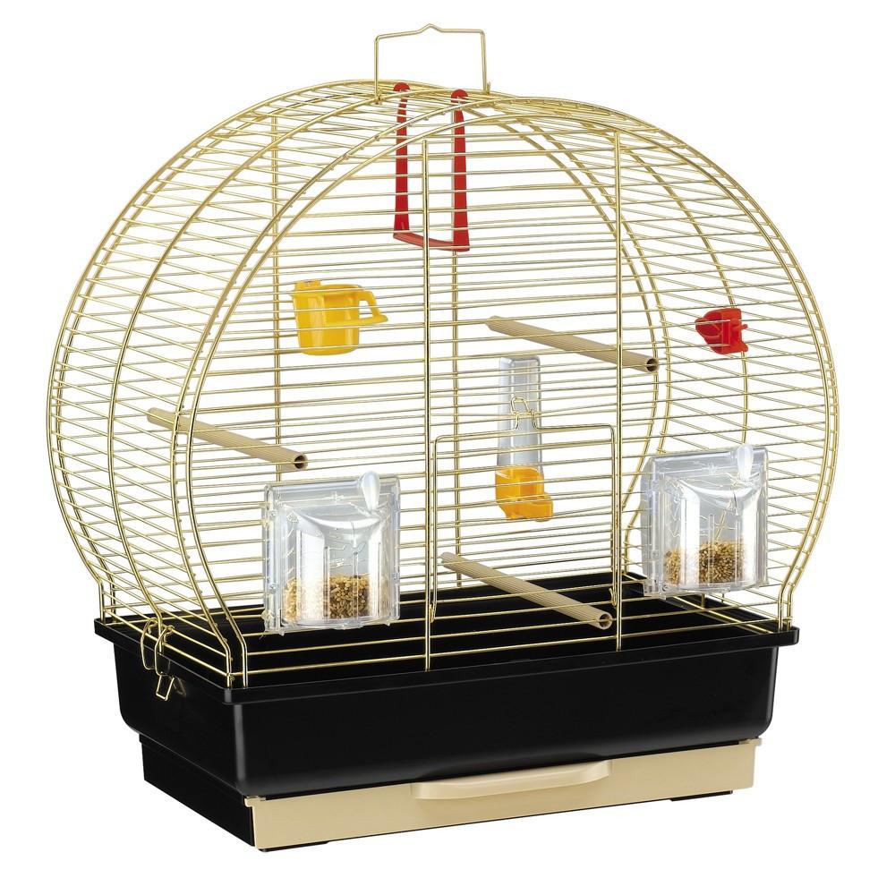 Ferplast Luna 2 Золото Клетка для канареек и маленьких птиц - Ferplast.Kiev - зоотовары для домашних животных в Киеве