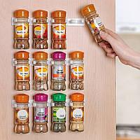 Универсальный кухонный органайзер для шкафов и холодильников Clip n Store