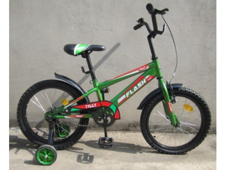 "Велосипед FLASH 18"" T-21841 GREEN /1/"