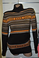 Свитер женский под шею 44-54 размеры